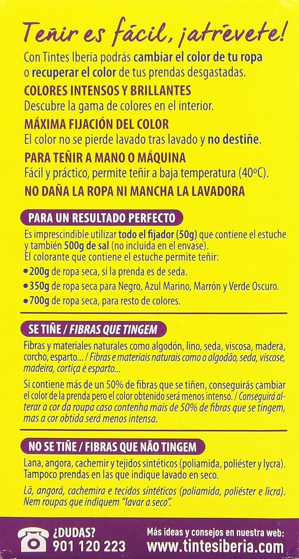 Iberia Tinte Textil Color Chocolate - 70 gr: Amazon.es: Belleza