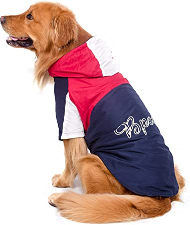 BPS® Chubasqueros Impermeables para Mascotas Perros, Impermeables ...