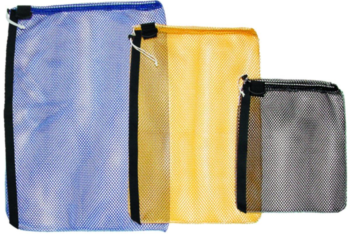 Innovative Medium Heavy Duty Mesh Drawsting Bag w/ D-Ring