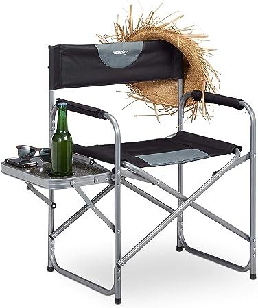 Regiestuhl gepolstert Tisch Campingstuhl Getränkehalter Faltstuhl Angelstuhl