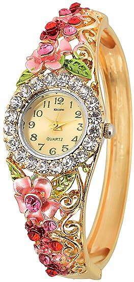Kitcone Analog Multi-Colour Dial Women's Watch-Jwlrtypa234 Women at amazon