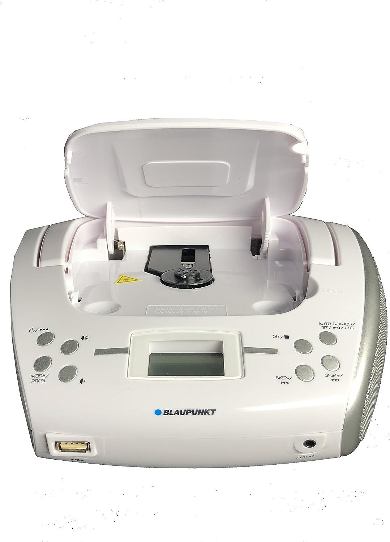 Blaupunkt Blp 8300 001 Radio Cd Player Mit Bluetooth Weiß Heimkino Tv Video