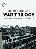 Roberto Rossellini: War Trilogy (The Criterion Collection)