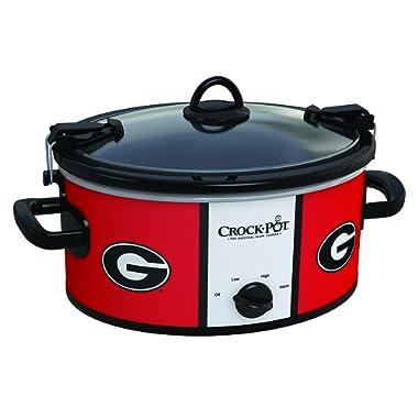 Crock-Pot Georgia Bulldogs Collegiate 6-Quart Cook & Carry Slow Cooker