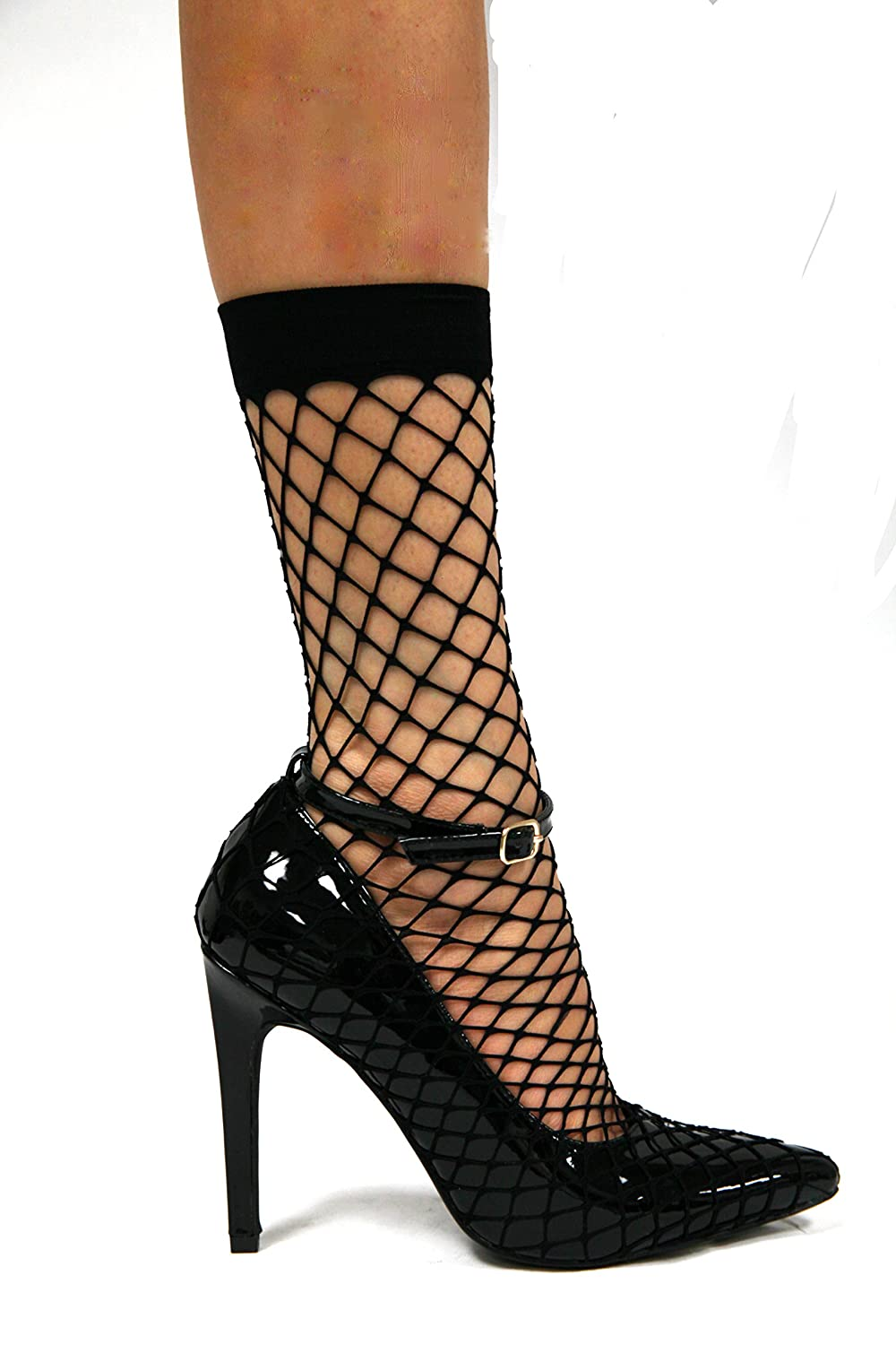 60adcd7c9 CAPE ROBBIN Close Toe Fishnet Pumps Gigi-26: Amazon.ca: Shoes & Handbags