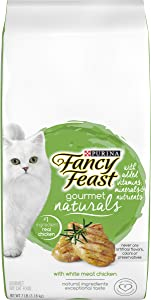 Purina Fancy Feast Gourmet Naturals High Protein, Natural Dry Cat Food
