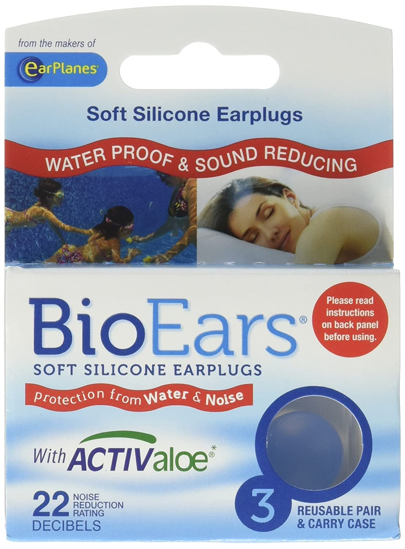 BioEars® Soft Silicone Earplugs 3 Pair / Pack - 3 Packs 1