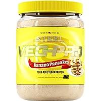 Steel Supplements Veg-PRO Vegan Protein Powder, Banana Pancakes - Organic Pea Protein Powder, Gluten Free, Dairy Free…