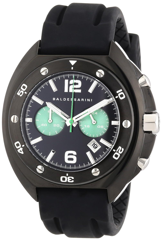 Baldessarini Herren-Armbanduhr XL MOW Chronograph Quarz Silikon Y8056W-20-00
