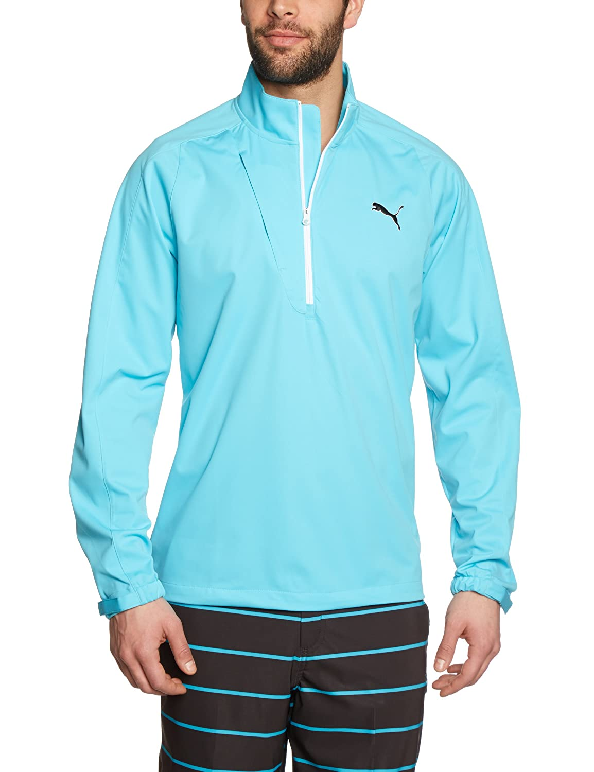 PUMA Golf Herren Knit Wind Jacket Long Sleeve