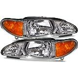 Ford Escort (Not ZX2)/Tracer Headlights Headlamps Driver/Passenger Pair New