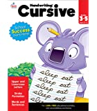 Carson Dellosa Cursive Activity Workbook Grades 3-5—Strokes, Upper and Lowercase Letters, Words and Sentence Building…