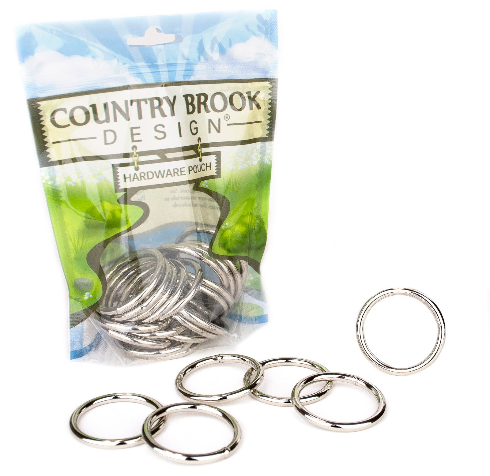 50 - Country Brook Design | 1 1/2 Inch Welded Heavy O-Rings