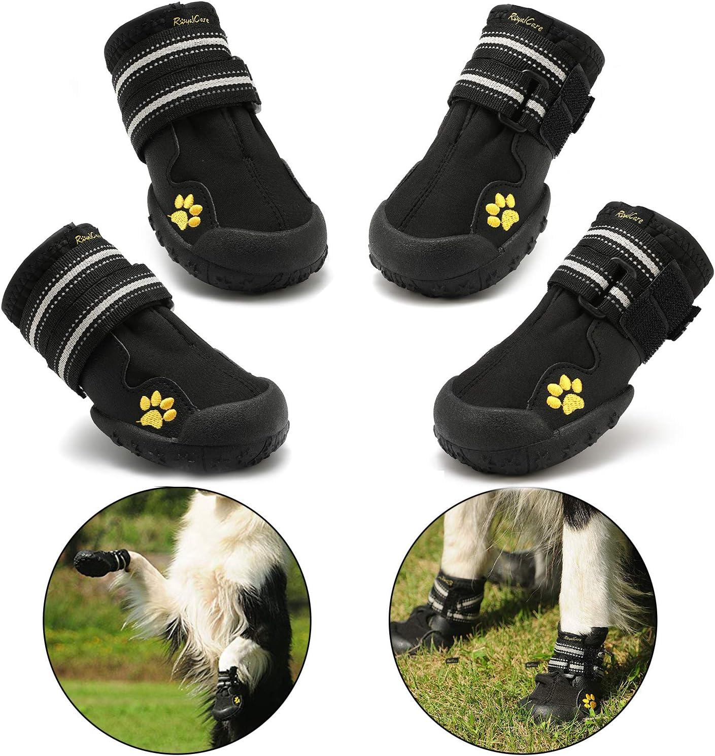 RoyalCare Botas Protectoras para Perros,