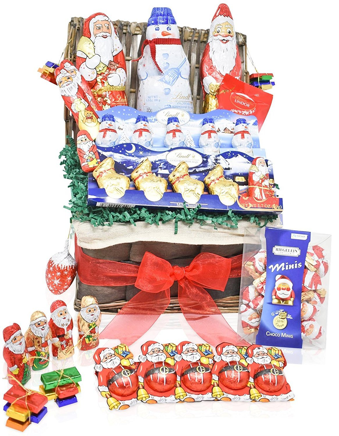 Lindt Valentine S Day Chocolate Variety Gift Basket Lindt Chocolate Specials Mixed Gift Pack For Him And Her Amazon Com Grocery Gourmet Food