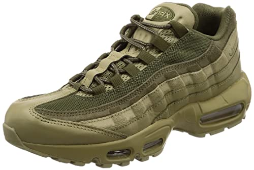 Mens Air Max 95 PRM Gymnastics Shoes, Green (Neutral Olive/Neutral Olive/Me 201), 6 UK Nike