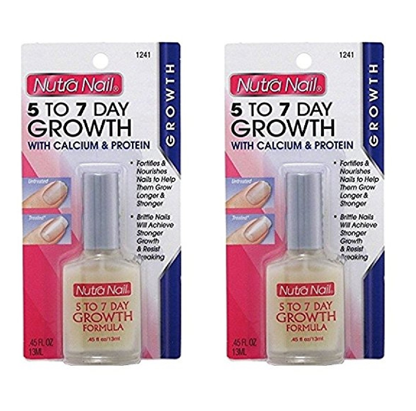 Amazon.com : Nutra Nail 5 To 7 Day Growth with Calcium and Protein ...