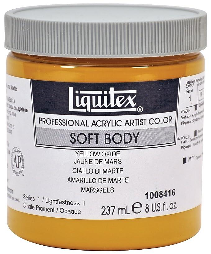 2 opinioni per Liquitex Soft Body- colore acrilico extra fine- 237ml- Giallo Di Marte