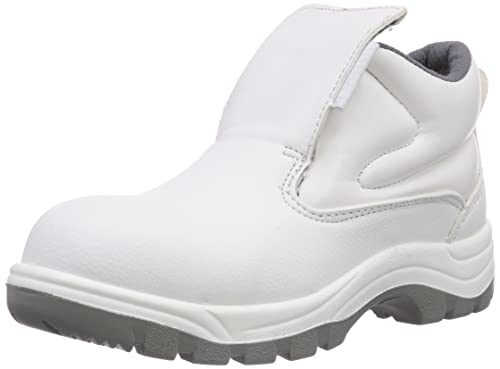 Maxguard W420 - Zapatos de Seguridad Unisex, Color weiß, Talla 36