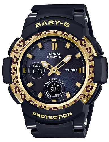 Reloj Casio Baby-g bebiji leopardo patrón Solar Radio bga-2100lp-1ajf Ladies