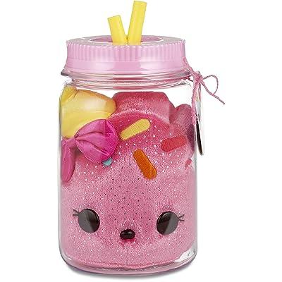 Num Noms Surprise in A Jar- Cake Bear Plush, Multicolor: Toys & Games