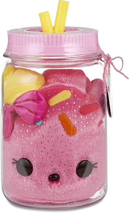 NUM NOMS Surprise in a Jar Scented Plush Toy Pink