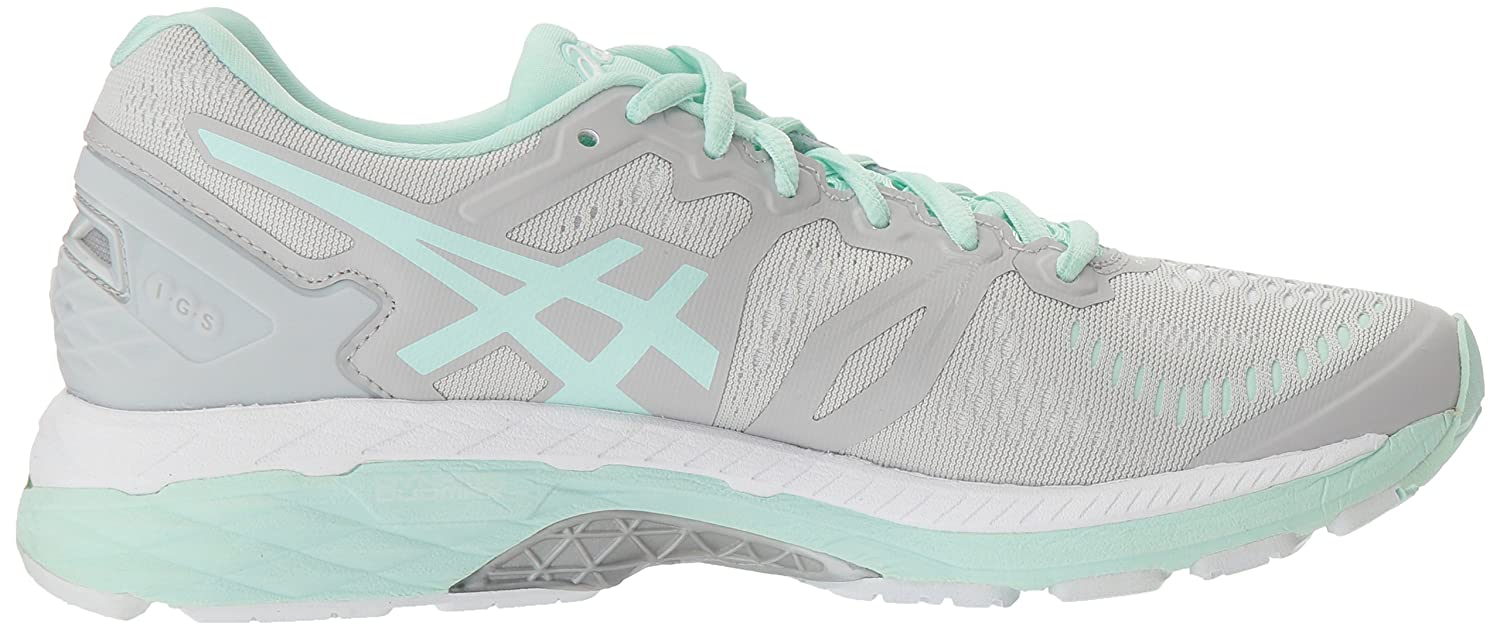 ASICS Women's Gel-Kayano 23 Running Shoe B01GSZ09K6 6.5 B(M) US|Glacier Gray/Bay/White