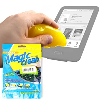 DURAGADGET Potente Gel Limpiador para eReader BQ Fnac Touch Light ...