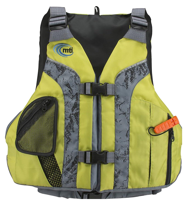 MTI Adventurewear Solarisライフジャケット 4L Olive Oil/Gray B01CL37CUY