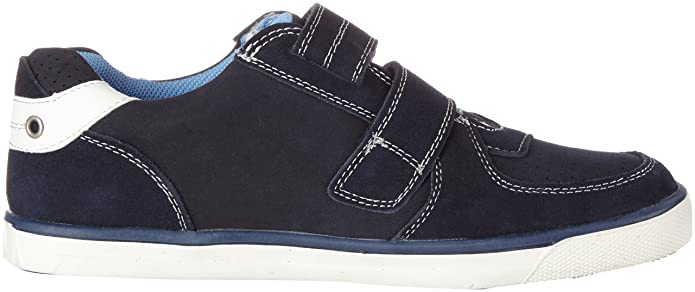 0af8dabdb3 Clarks Indigo Boys' 441 242 Low-Top Sneakers Blue Size: 1: Amazon.co.uk:  Shoes & Bags