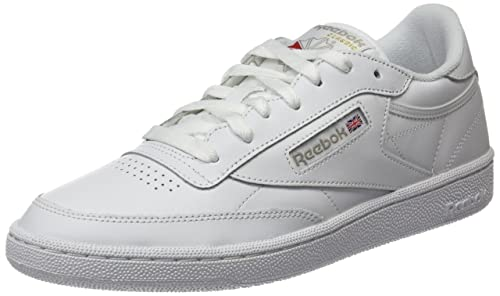Reebok Club C 85, Zapatillas para Mujer, Blanco (White/Light Grey 0), 35.5 EU: Amazon.es: Zapatos y complementos
