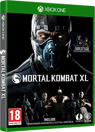 Warner Bros Mortal Kombat XL, Xbox One Básico Xbox One Inglés, Italiano vídeo - Juego (Xbox One, Xbox One, Lucha, Modo multijugador, M (Maduro), Soporte físico): Amazon.es: Videojuegos