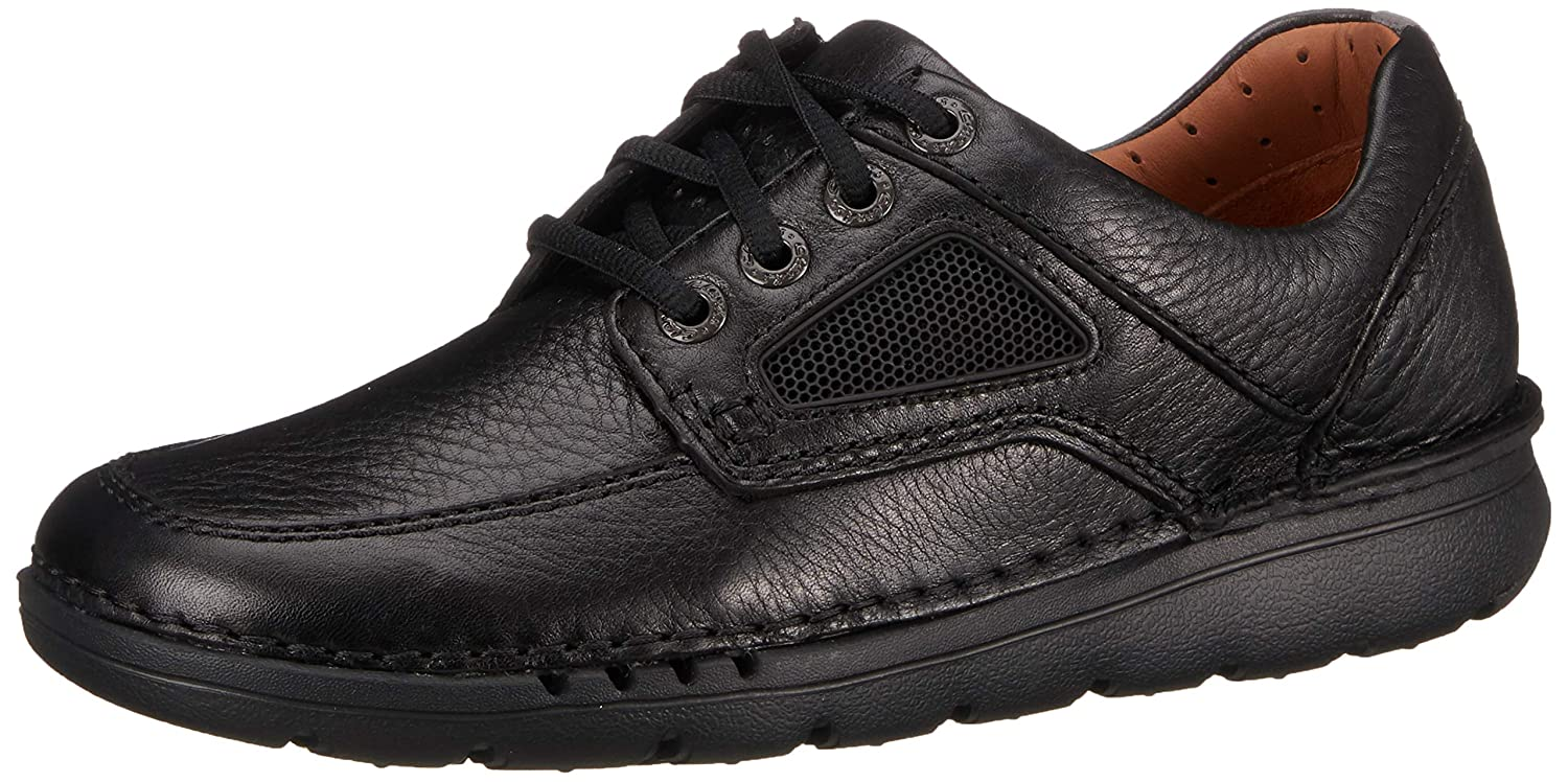 TALLA 42.5 EU. Clarks Unnature Time, Zapatos de Cordones Derby para Hombre