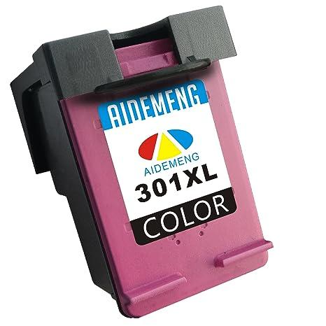 AideMeng Remanufacturado Reemplazo para HP 301 XL Cartuchos de Tinta (1 Tricolor) Compatiable con HP Deskjet 1000 1010 1050 1050A 1510 1512 2000 2050 ...