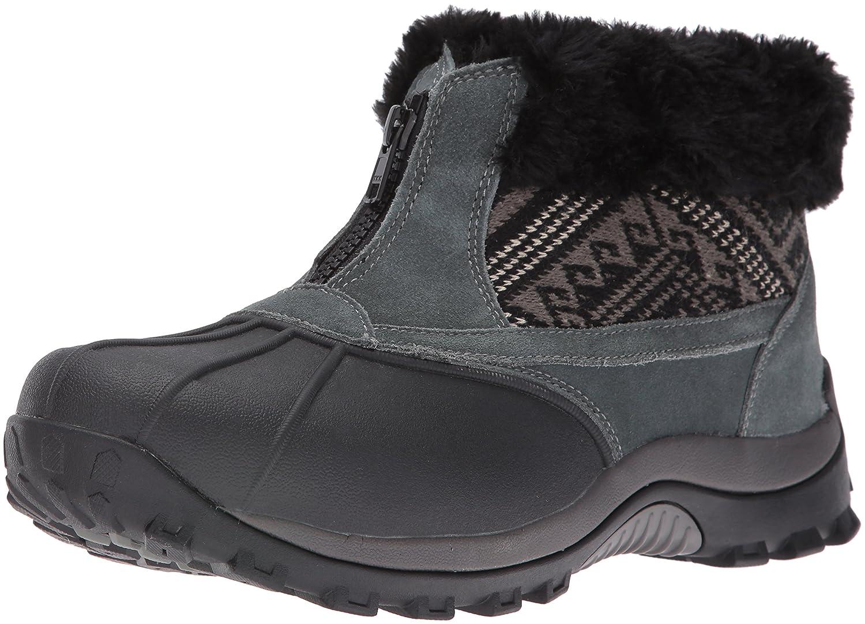 Propet Women's Blizzard Ankle Zip Ii Winter Boot B01AYP47UO 6.5 2E US|Black/Aztec Knit