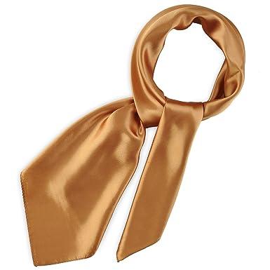 Foulard carré Gala Cuivre  Amazon.fr  Vêtements et accessoires d4d4624faa7