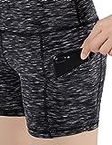 ODODOS High Waist Out Pocket Yoga Short Tummy