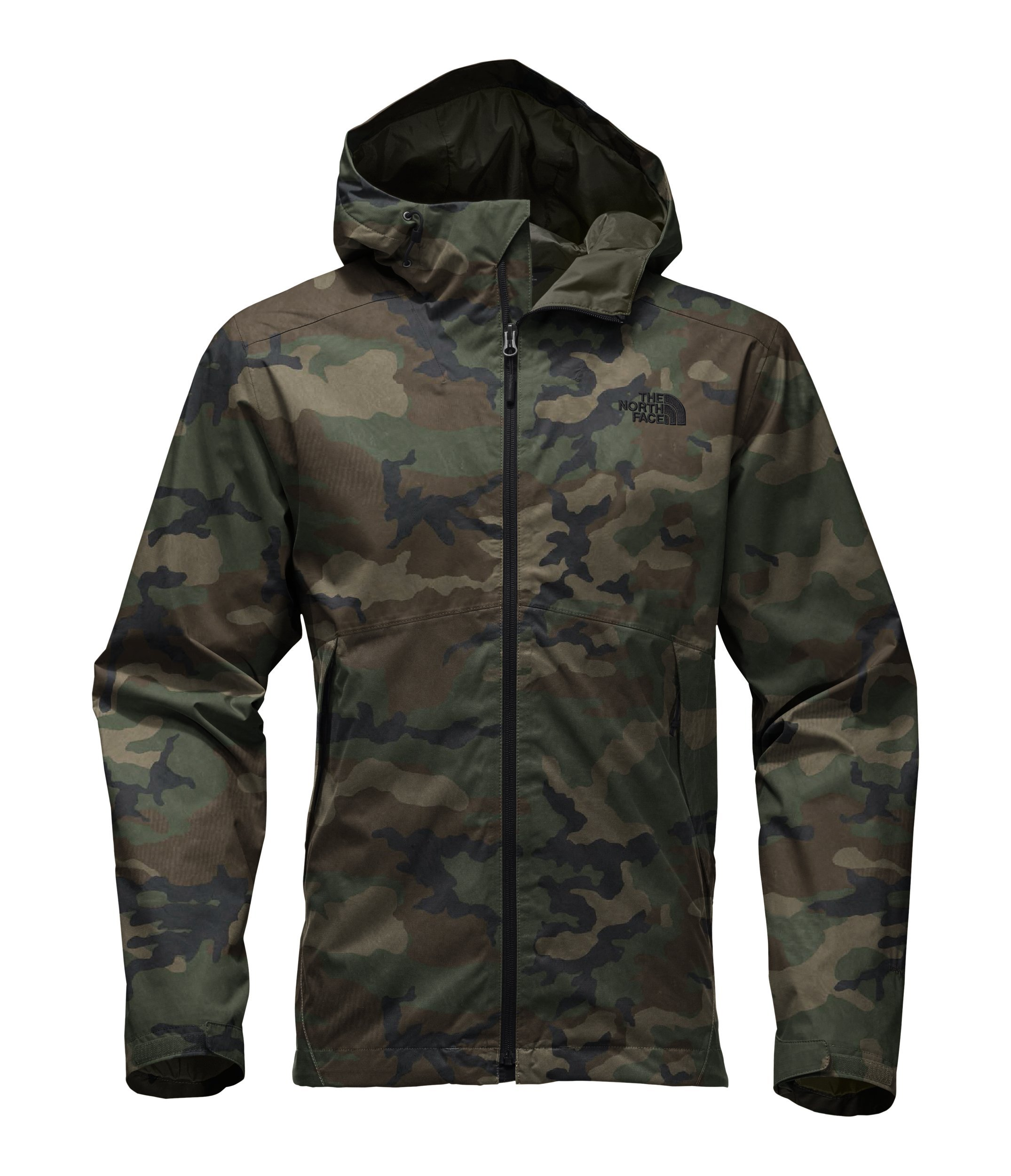 The North Face Men's Millerton Jacket - Terrarium Green Woodland Camo Print - M by The North Face