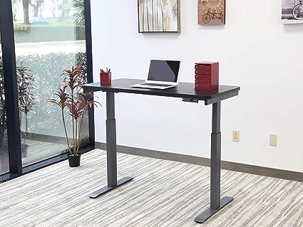 Home office standing desk Modern Motionwise Sdg48b Electric Standing Desk 24x48 Home Office Series 28quot Amazoncom Amazoncom Motionwise Sdg48b Electric Standing Desk 24x48 Home