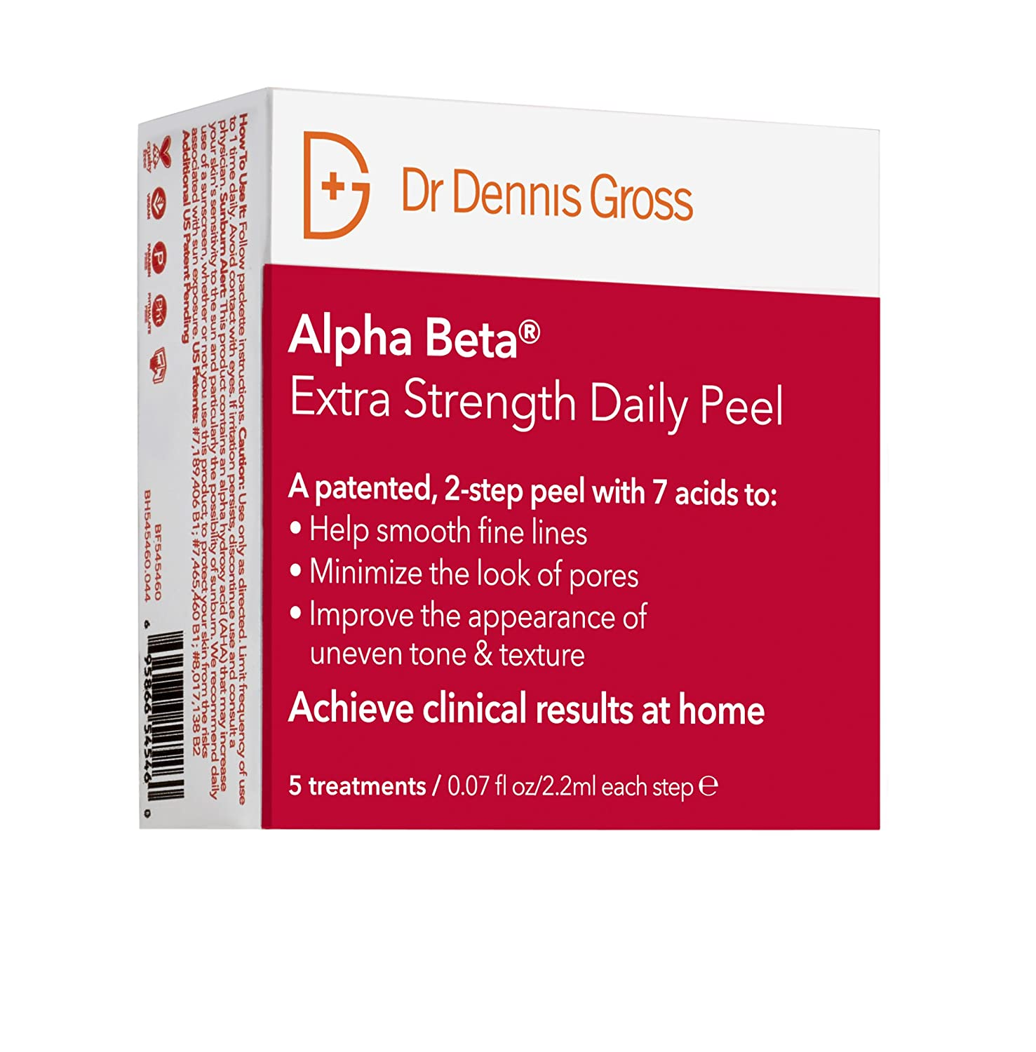 Dr Dennis Gross Skincare Alpha Beta Peel, Extra Strength - Pack of 5 BA521210