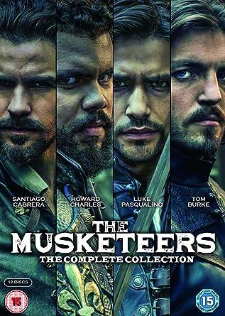 Musketeers: Tom Burke, Luke Pasqualino, Alexandra Dowling, Peter