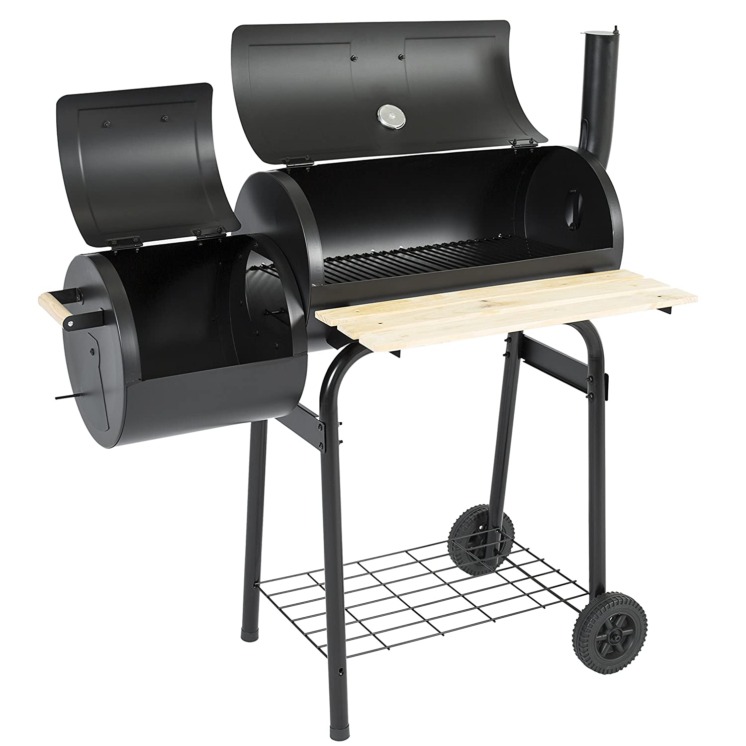 Amazon.com : Best Choice Products BBQ Grill Charcoal Barbecue Patio  Backyard Home Meat Cooker Smoker : Garden U0026 Outdoor