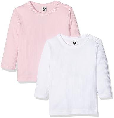 cheap for discount f5b36 e3d92 Care Baby-Mädchen Langarmshirt Bio Baumwolle, 2er Pack