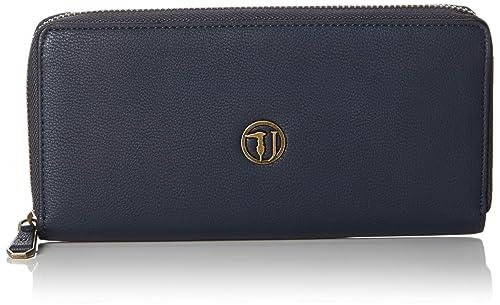 65602a185b Trussardi Jeans 75w00087-9y099999, Portafoglio Donna, 20x9.5x2 cm (W x H x  L)