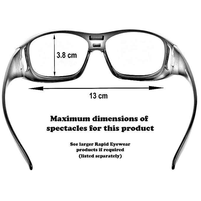 Rapid Eyewear - Gafas de sol superpuestas (para poner encima de las gafas de vista, cristal polarizado, protección UVA/UVB, unisex): Amazon.es: Deportes y ...