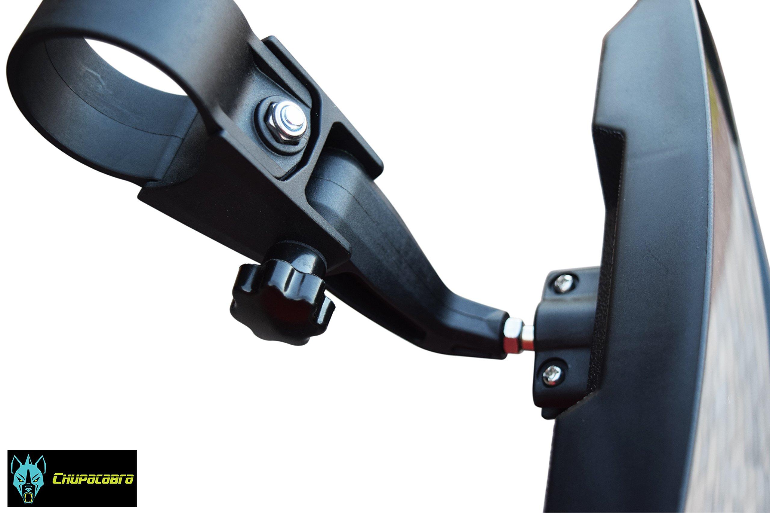 Chupacabra Offroad UTV Universal Rear View/Side View Mirror 1.75 clamp
