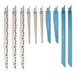 rpr10mxb Saxton Klinge 10Säbelsägeblätter R1021L Combo Holz Metall & Demolition passend für Bosch, Dewalt, Makita