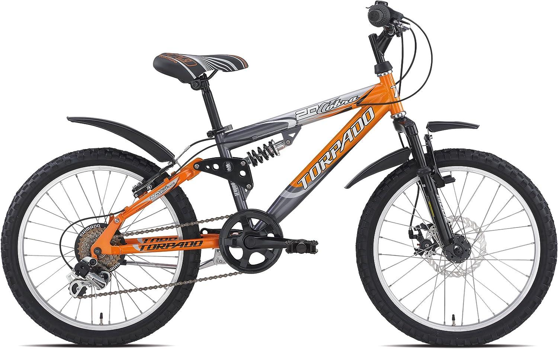 junior Torpado mtb full cobra bicicleta 20