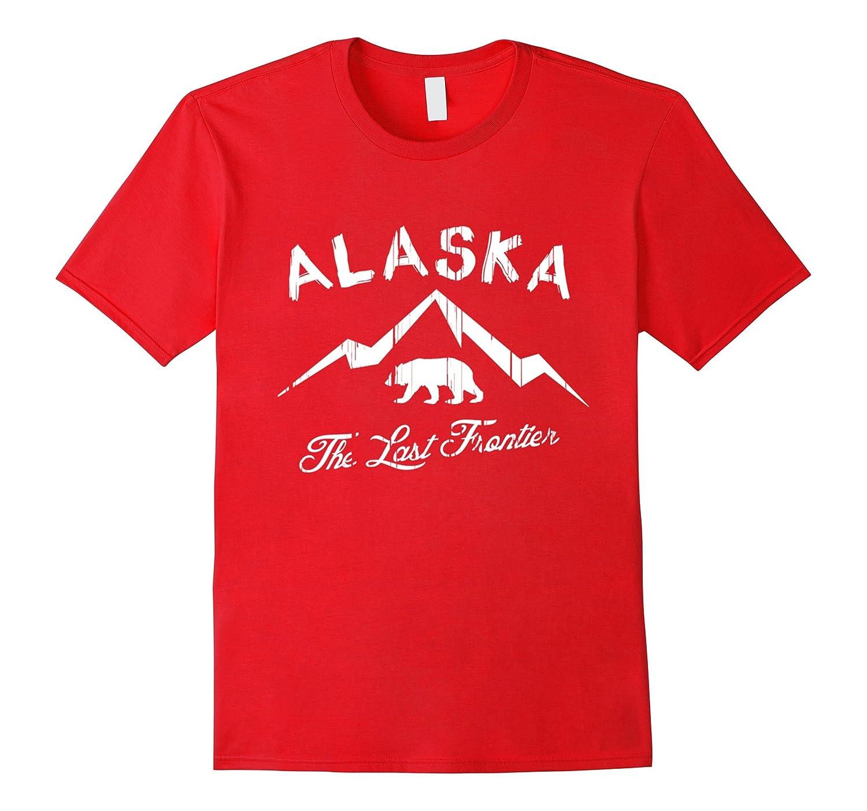 Alaska State T-shirt The Last Frontier Alaska Home Shirt-TH