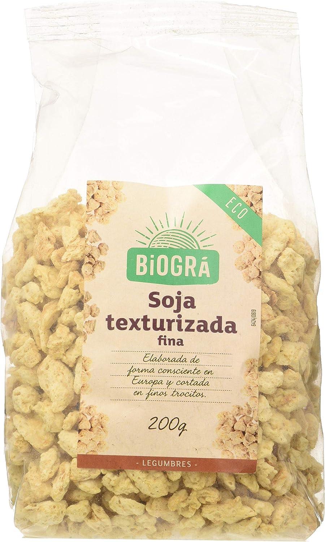 Biográ Soja Texturizada Fina 300G Biogra Bio Biográ 100 g ...